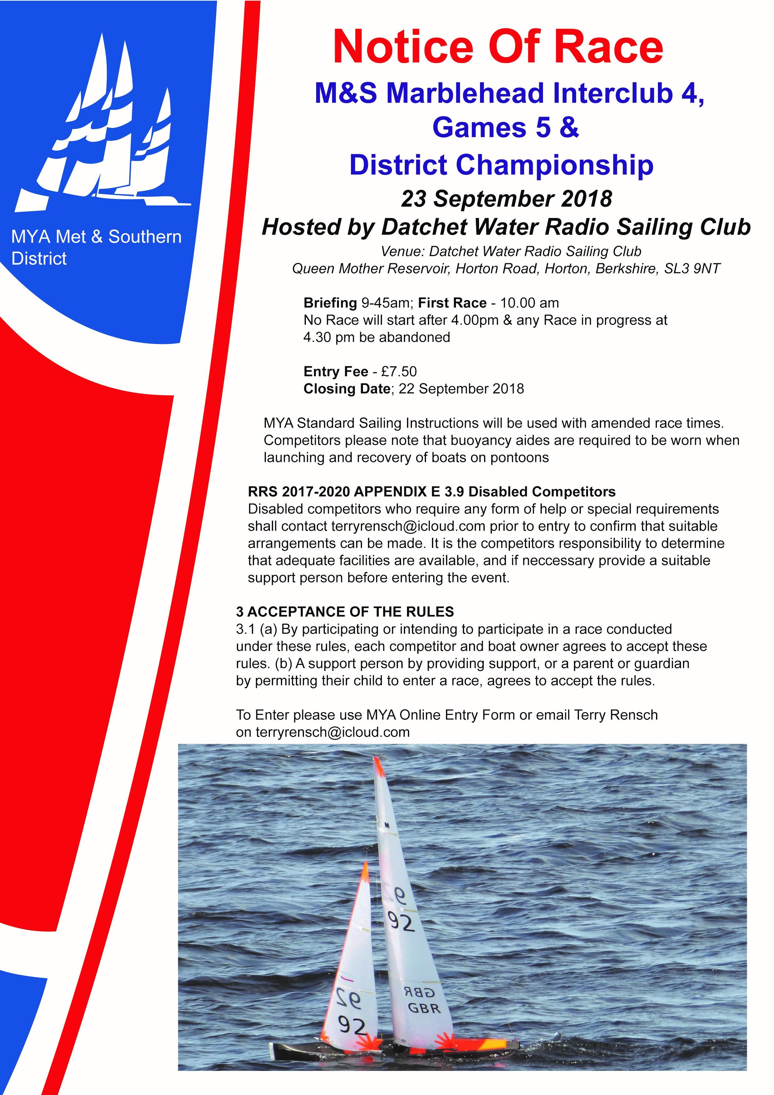 NOR Interclub 4, Games 5 & District Championship