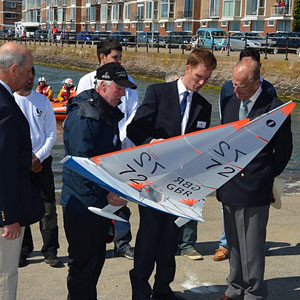 Duke of Edinburgh Attends West Kirby