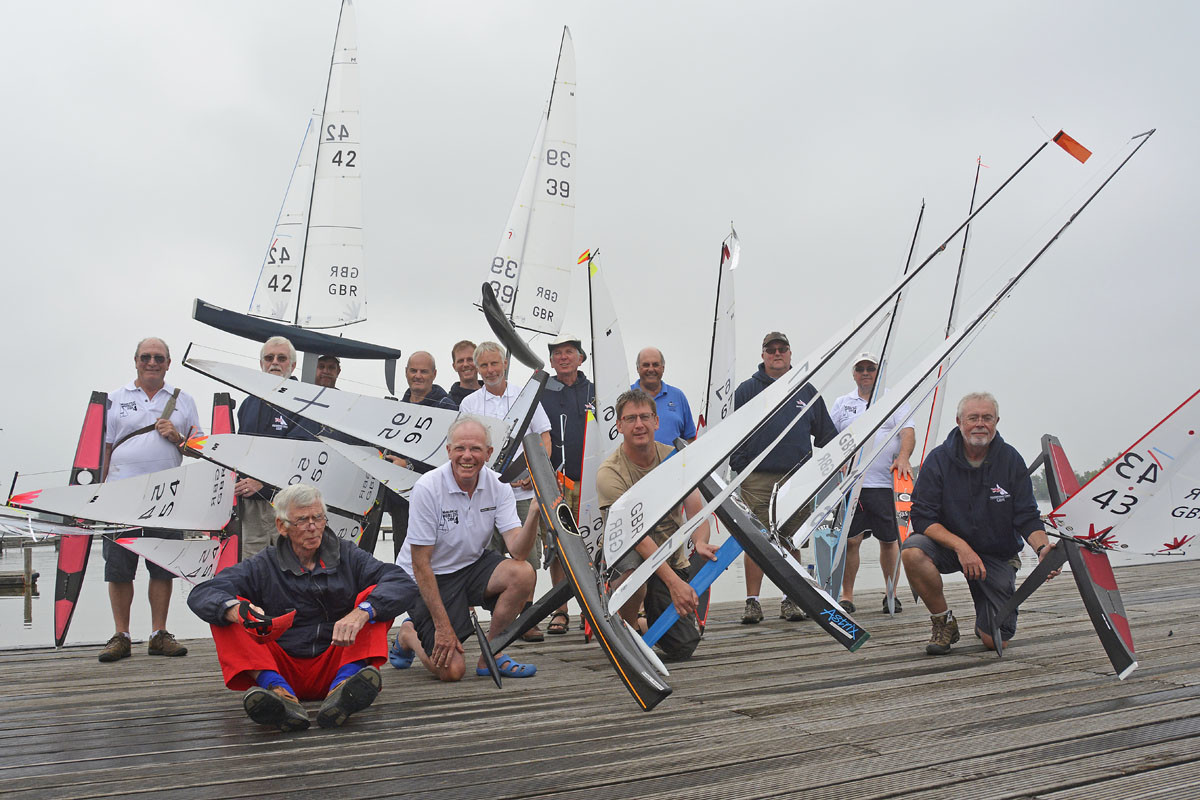 GBR Skippers lined up at Gouda