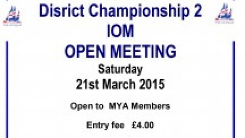 Met & Southern District IOM District Championship 2 @ Reading