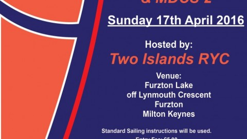 MDCS 2 & McCollough Cup – Two Islands RYC – 17th April