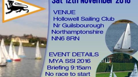 Six Metre Open – Hollowell Sailing Club – Sat 12th November