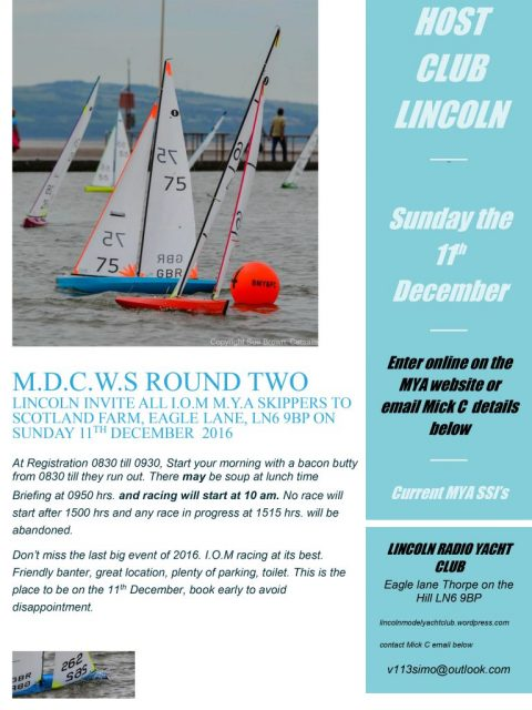 MDWS 2 @ Lincoln – Sunday 11th December