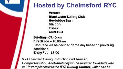 Stephen Rix Bowl- IOM Open Meeting – Chelmsford RYC – 11th December