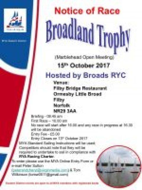 ED M Broadland Trophy Entry Open