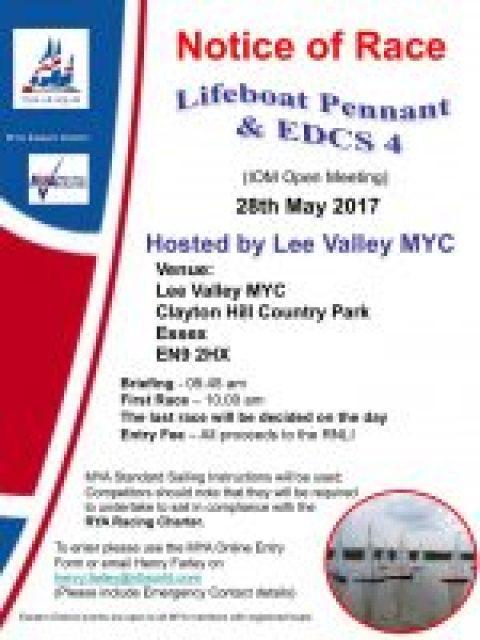 EDCS 4 IOM Lifeboat Pennant 2017