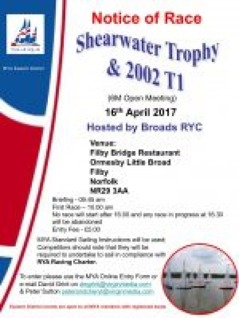 ED 6M 2002T 1 Shearwater Trophy Entry Open