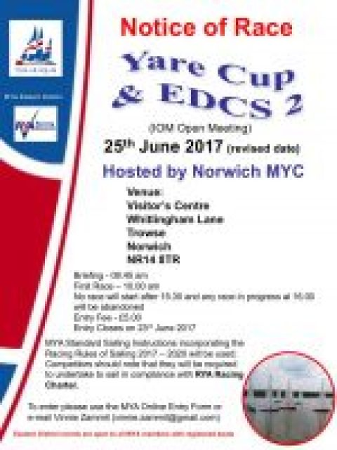 EDCS 2 IOM Yare Cup