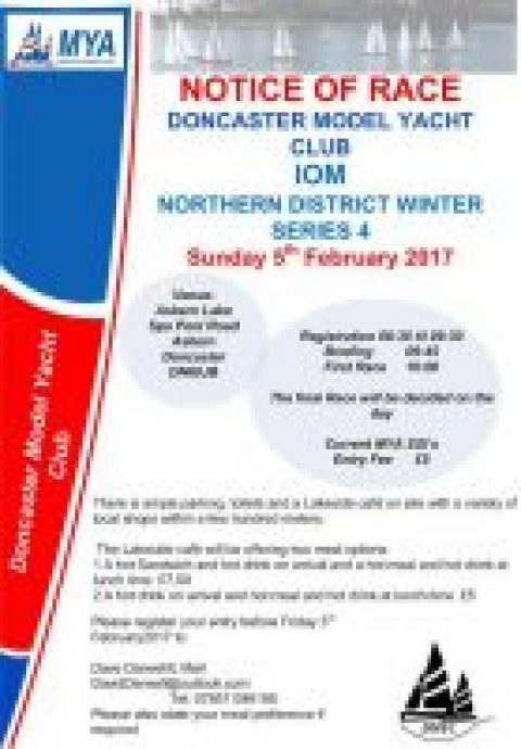 Doncaster MYC IOM Northern District Winter series 4