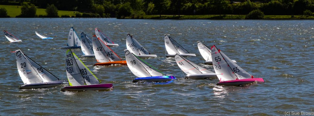DF95 Nationals 2017 Report and Results – Model Yachting