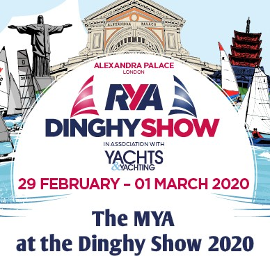 MYA at the 2020 dinghy show